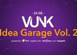 VUNK Idea Garage Vol. 2 - Garage48 HUB - coworking space in Tallinn