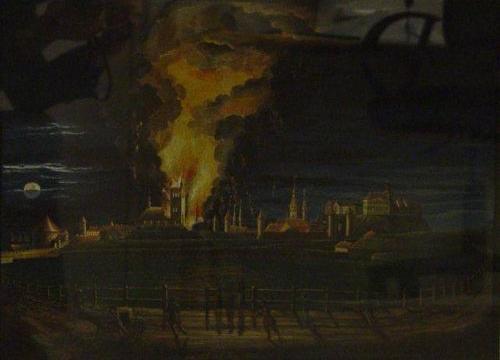 Oleviste taastamine pärast 1820. aasta tulekahjut - Tallinna Linnamuuseum