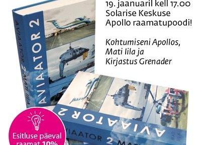 """Raamatu """"Aviaator 2"""" esitlus - Solaris"""