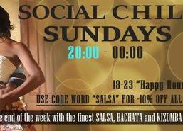 Social Chill Sundays - Cubanita Live Cafe