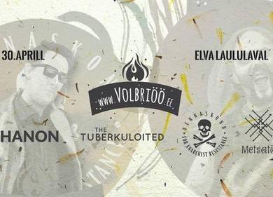 """Volbriöö """"Ärkamine"""" - Metsatöll, The Tuberkuloited, Shanon, Vennaskond - Pauluse Kirik"""