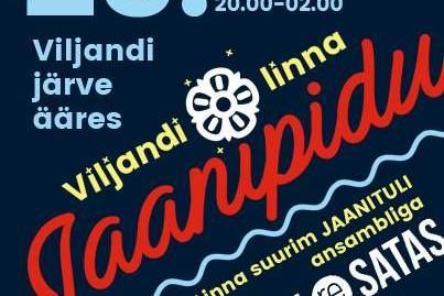 Viljandi Jaanipidu - Viljandi Järve Rand