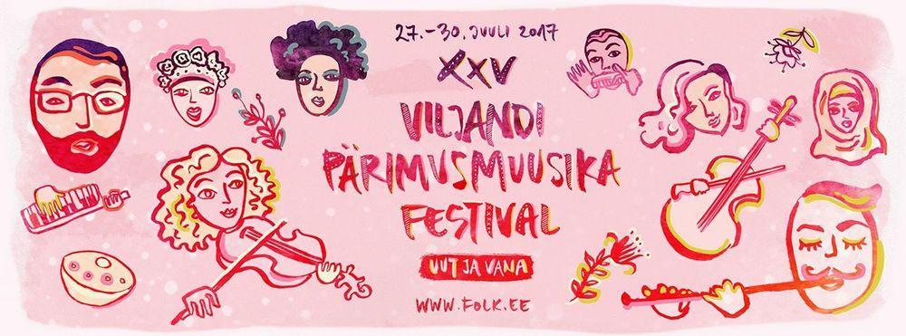Viljandi pärimusmuusika festival / Viljandi Folk Music Festival - Viljandi Lossimäed