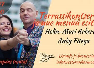 Uue menüü esitluskontsert Helin-Mari Arderi ja Andy Fitega - Harmoonia