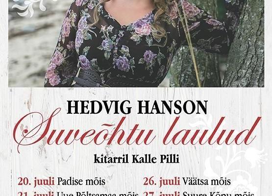 """Hedvig Hanson """"Suveõhtu laulud"""" - Suure-Kõpu mõis"""