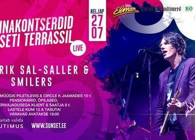 Sunset Rannakontsert: Hendrik Sal-Saller & Smilers - Ööklubi Sunset