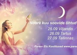 Noore kuu soovide õhtu - Päikesekillu Perekeskus