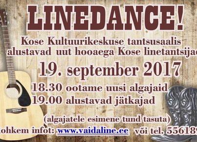 LINEDANCE ALUSTAB - Kose Kultuurikeskus