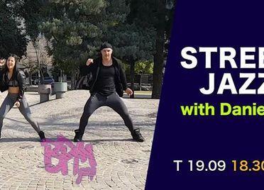 Street jazzi tantsutund Danielaga - Tantsustuudio Làtin Pàssion