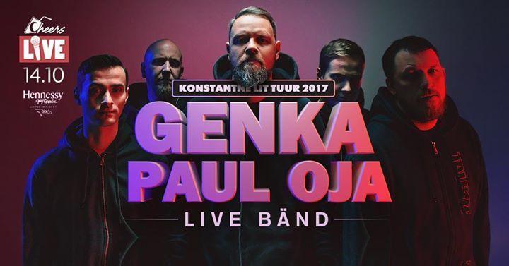 Live: Genka / Paul Oja & Live Bänd - Cheers Viljandi