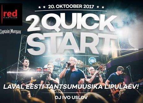 Live: 2 Quick Start - Club Red