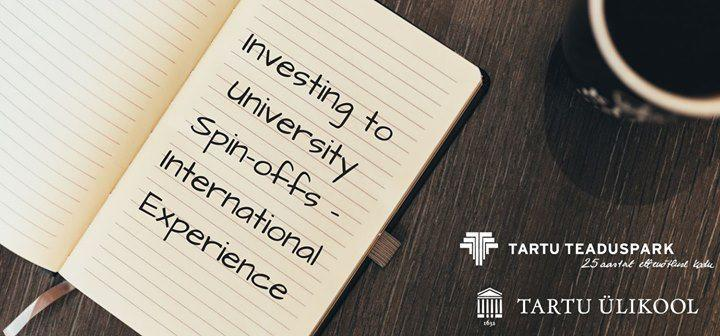 Investing to University Spin-offs - International Experience - SPARK Demo
