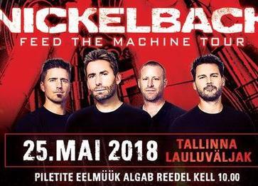 Nickelback - Tallinna Lauluväljak