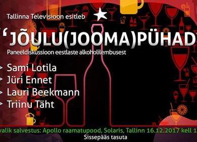 Paneeldiskussioon eestlaste alkoholilembusest - Apollo Raamatupood