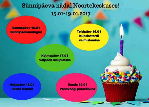 Saku Valla Noortekeskuse sünnipäevaNÄDAL - Teaduse 1