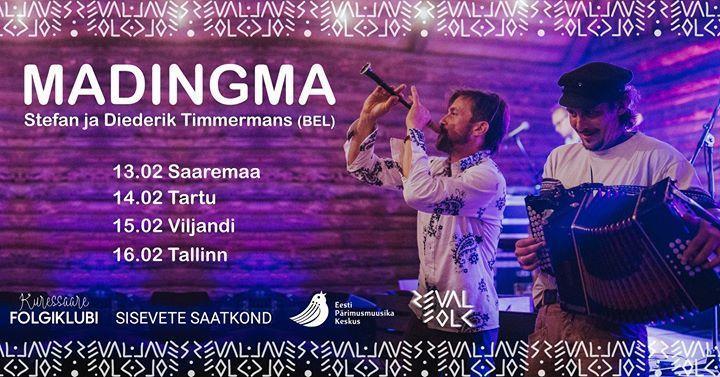 Madingma - Stefan ja Diederik Timmermans (Flaami) - Saaremaa Veski