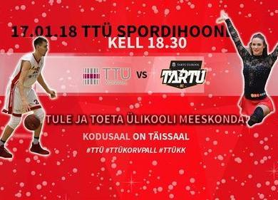 TTÜ KK-Tartu Ülikool - TTÜ Spordihoone