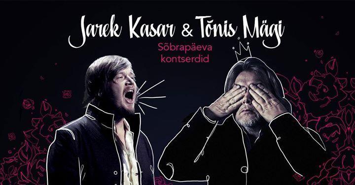 Tõnis Mägi & Jarek Kasar - Sõbrapäeva kontsert - Eesti Rahva Muuseum / Estonian National Museum