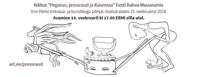 """Osalussaali näituse """"Pressrauad läbi aja"""" avamine - Eesti Rahva Muuseum / Estonian National Museum"""