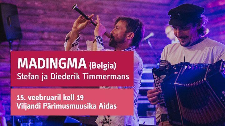 Madingma: Stefan ja Diederik Timmermans (Belgia) - Pärimusmuusika Ait