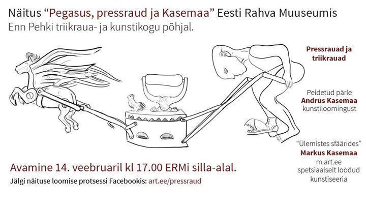 """Näituse """"Pegasus, pressraud ja Kasemaa"""" avamine - Eesti Rahva Muuseum / Estonian National Museum"""