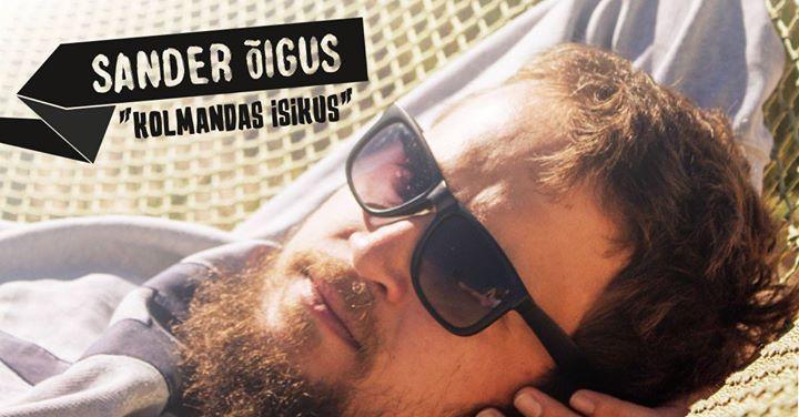 """Comedy Estonia: Sander Õigus - """"Kolmandas Isikus"""" - Teater Vanemuine"""