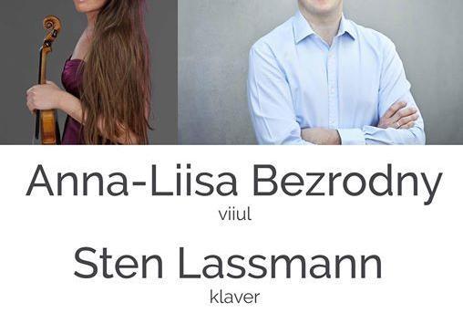Peterburi sillad: Anna-Liisa Bezrodny ja Sten Lassmann - Estonia Kontserdisaal