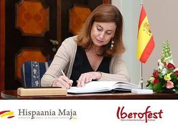 Transistion to democracy: the Spanish experience. Ambassador - Hispaania Maja. Hispaania Keele ja Kultuuri Keskus