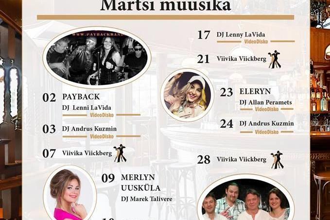 Esineb Viivika Viickberg - Black Rose Pub