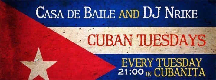 Cuban Tuesday - Cubanita Live Cafe