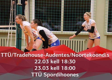 EMV veerandfinaalid TTÜ/Tradehouse-Audentes/NK - TTÜ Spordihoone