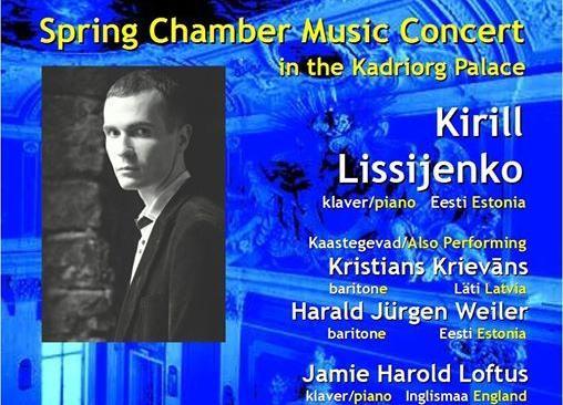 """Tasuta kontsert """"Kevad algab klassikaga Kadrioru lossis"""" - Kadriorg Palace"""