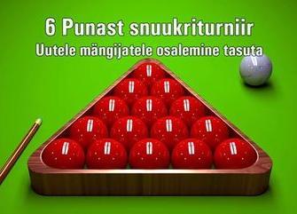 6 Punast snuukrisari 2. etapp 2018/2019 - Club 147
