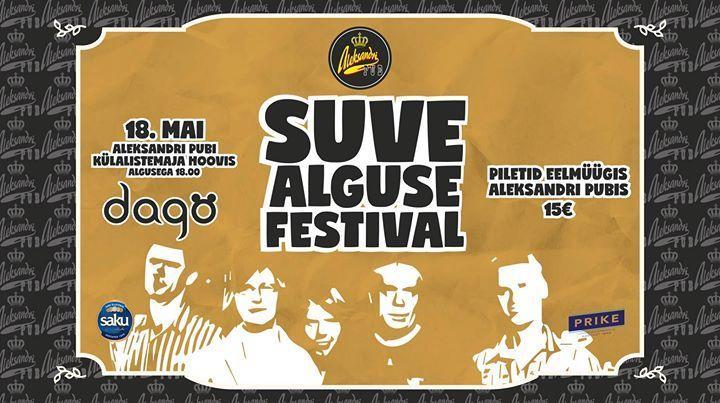 Suvealguse festival, esineb Dagö - Aleksandri pub