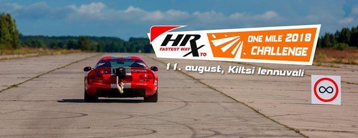 HRX One Mile Challenge 2018 - Kiltsi Lennuväli