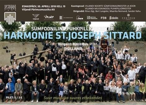 Külaline majas: Sümfooniline puhkpilliorkester St.Joseph Sittard - Pärimusmuusika Ait