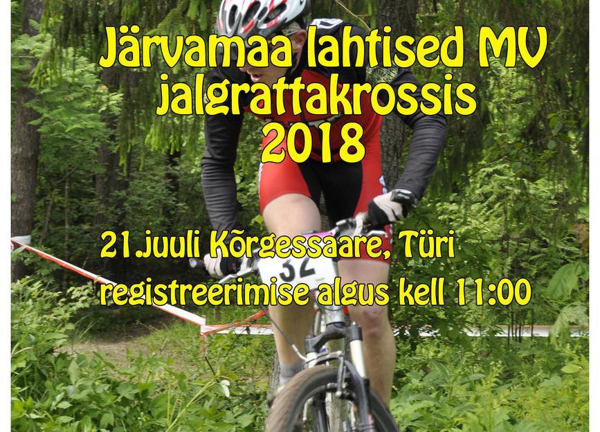 Järvamaa lahtised Meistrivõistlused jalgrattakrossis 2018 - TÜRI ELAMUSPARK
