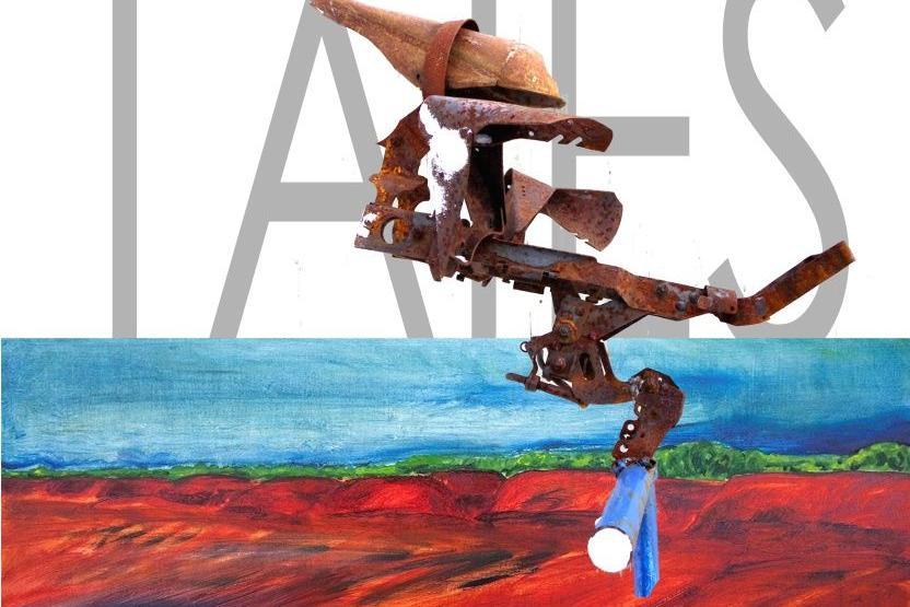 """Margus Tiitsmaa näituse """"TAIES"""" avamine Türi kultuurikeskuse galeriis. - Türi Kultuurikeskus kunstigalerii"""