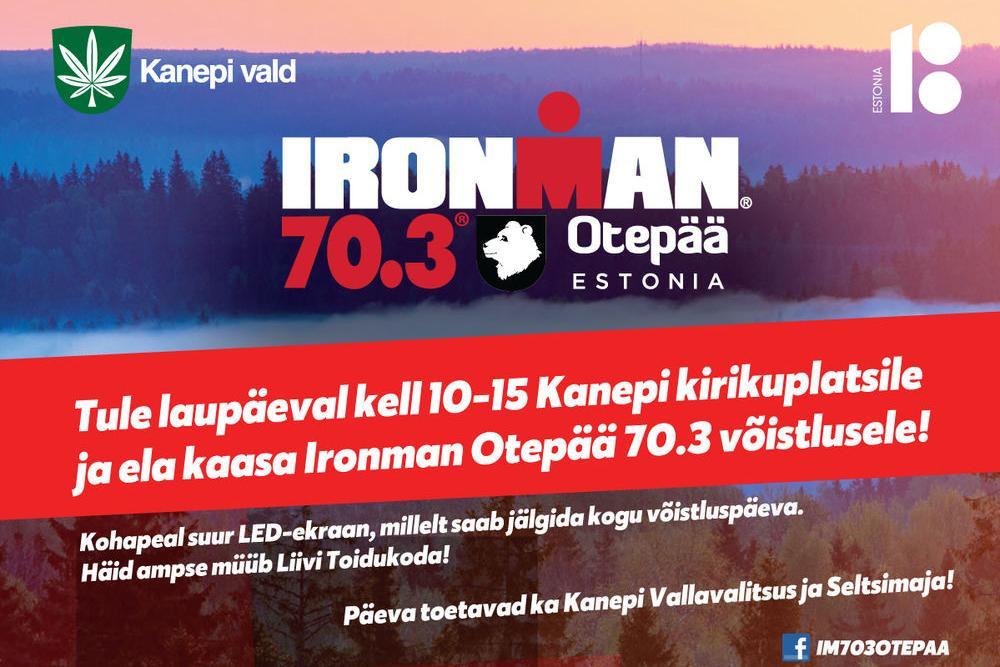 Ironman 70.03 Otepää triatlon - Kanepi