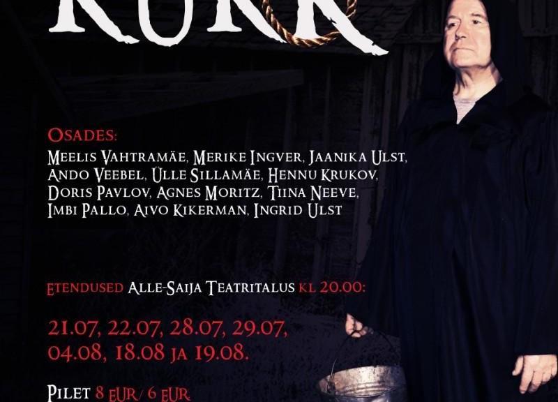 """Etendus J.Puusepp """"Kukk"""" - Alle-Saija Teatritalu"""