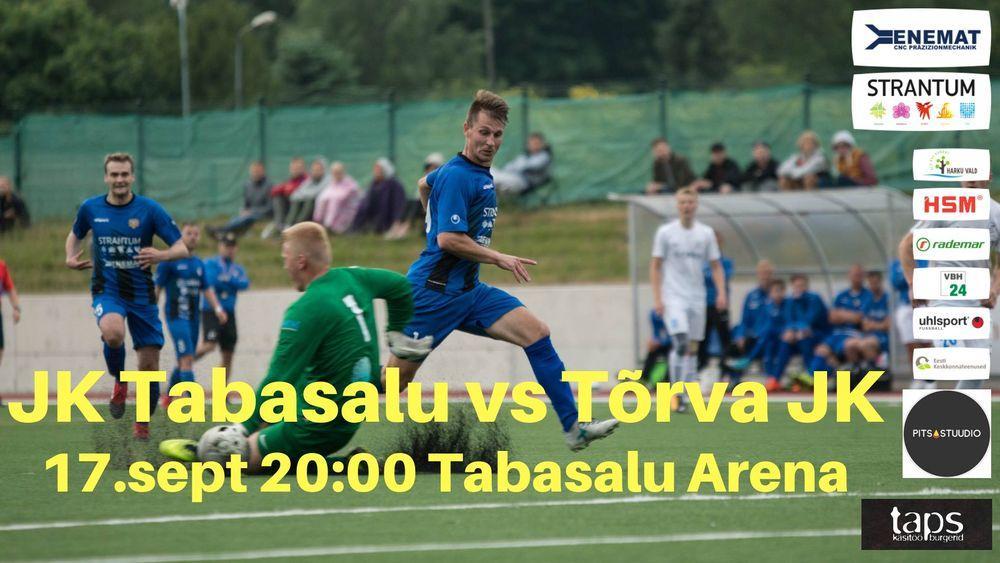 JK Tabasalu vs Tõrva JK - Tabasalu staadion