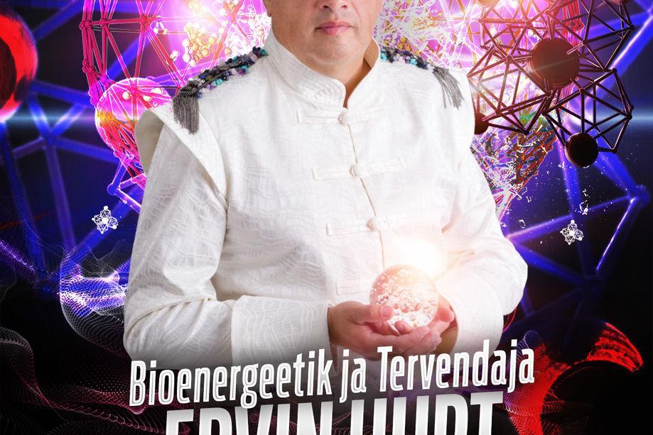 Bioenergeetik ja tervendaja Ervin Hurt Türi kultuurikeskuses - Türi Kultuurikeskus
