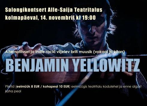 Salongikontsert - Alle-Saija Teatritalu