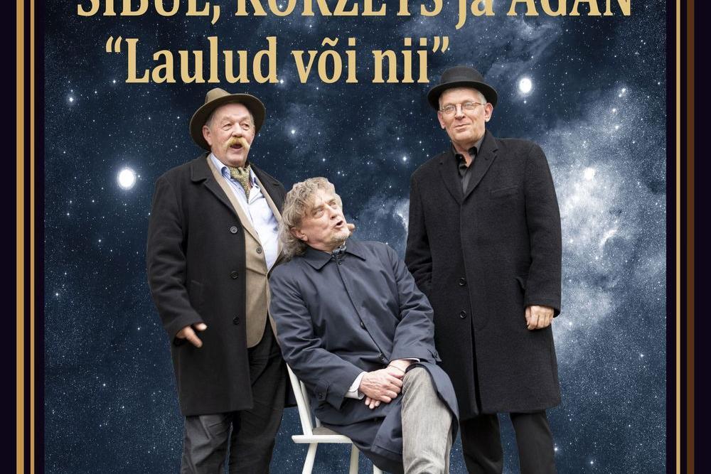 """Eksklusiivne kontsert """"Laulud või nii"""" – Sibul, Koržets ja Agan - Saku Mõis & Saku Manor"""