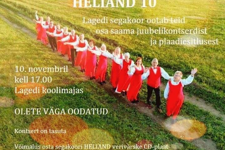Heliand 10 - Lagedi Kool