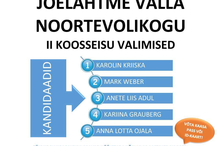 JÕELÄHTME VALLA NOORTEVOLIKOGU VALIMISED - Jõelähtme vallavalitsus