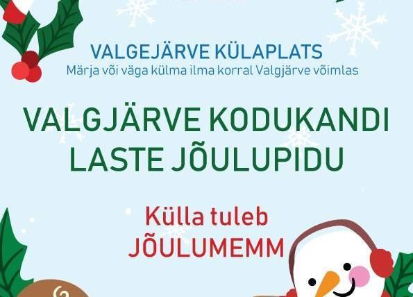 Valgjärve kodukandi laste jõulupidu - Valgjärve