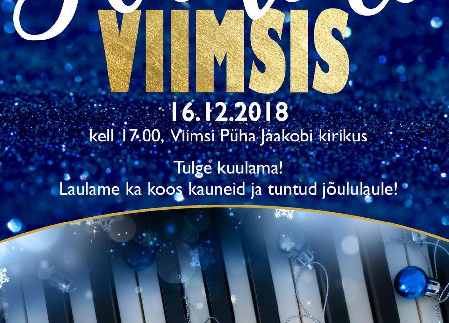 KONTSERT: Jõulud Viiimsis - EELK Viimsi Püha Jaakobi kirik