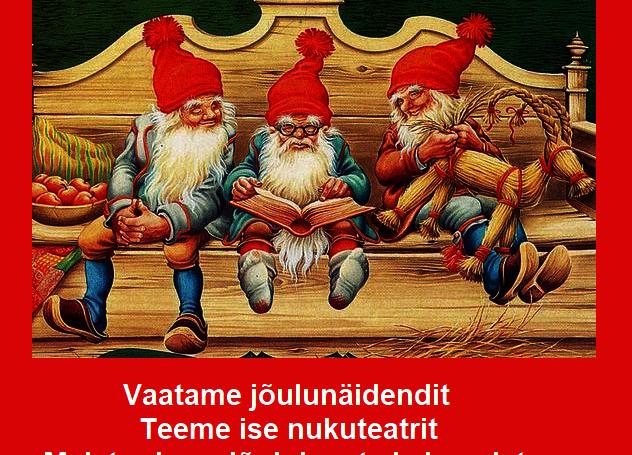 Jõulukuu lastehommik - Türi raamatukogu