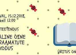 """15.12.2018, kell 12.00 etendus ,,Kummaline öine lugu raamatute kodus"""" - Peetri raamatukogu"""